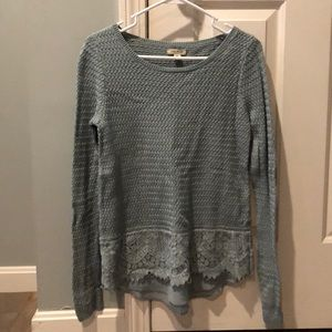 Lucky brand lightweight sweater